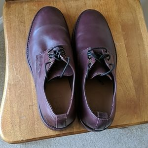 Frye Murray shoes more redish maroon than brown